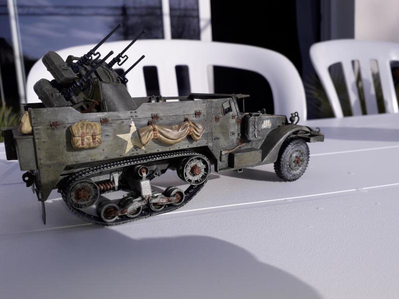 U.S. Multiple Gun Motor Carriage M16 1/35 Tamiya  FINI !!!!!!!! - Page 2 Mini_213