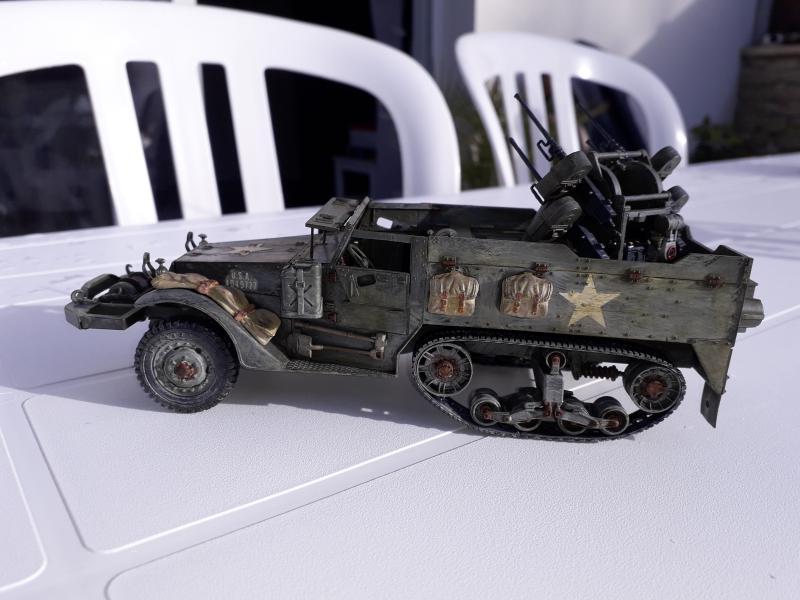 U.S. Multiple Gun Motor Carriage M16 1/35 Tamiya  FINI !!!!!!!! - Page 2 Mini_214