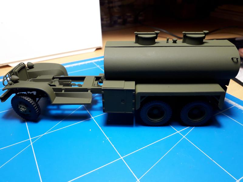 GMC Water Tank Truck 1/35 Italeri FINI!!!!!!!!! - Page 2 U10