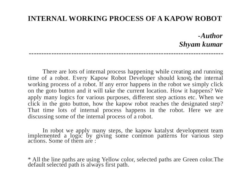 INTERNAL WORKING PROCESS OF A KAPOW ROBOT Screen12