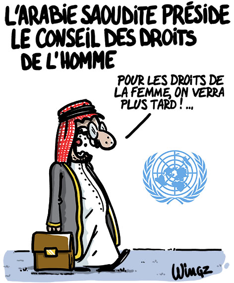 Actu en dessins de presse - Attention: Quelques minutes pour télécharger - Page 4 Arabie10