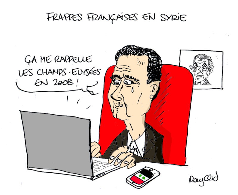 Actu en dessins de presse - Attention: Quelques minutes pour télécharger - Page 4 Assad-10