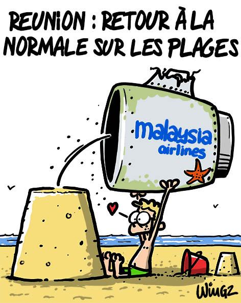 Actu en dessins de presse - Attention: Quelques minutes pour télécharger - Page 3 Mh370-10