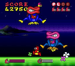 ♥ We love 2D: Super Famicom ♥ Plok-s10