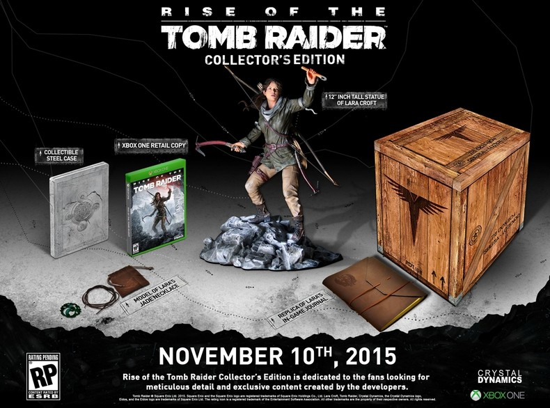 Rise of the Tomb Raider XBOX ONE collector Rise-t10