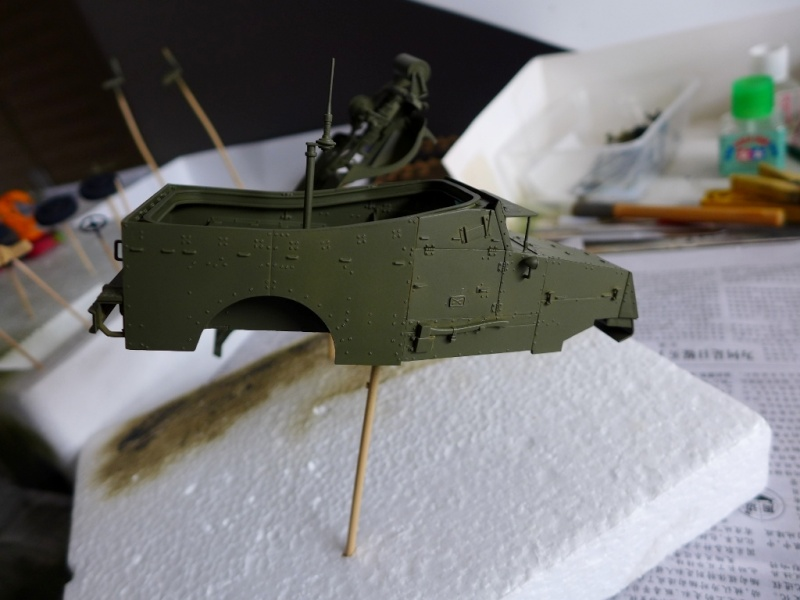 "M3A1 ""White Scout Car"" von HobbyBoss P1040211"