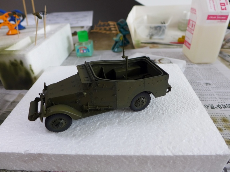 "M3A1 ""White Scout Car"" von HobbyBoss P1040239"