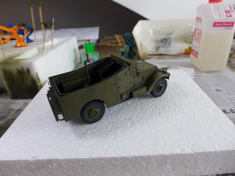 "M3A1 ""White Scout Car"" von HobbyBoss P1040243"