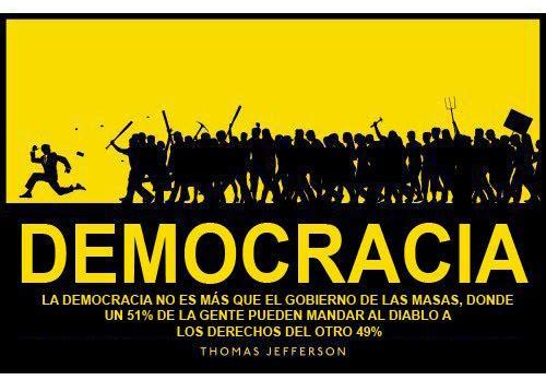 Realidad vs propaganda Estatista Democr10