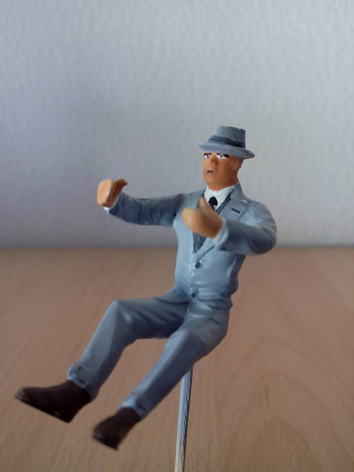 "figurine AMT de 1970.1/24.""borsalino"". 10455510"