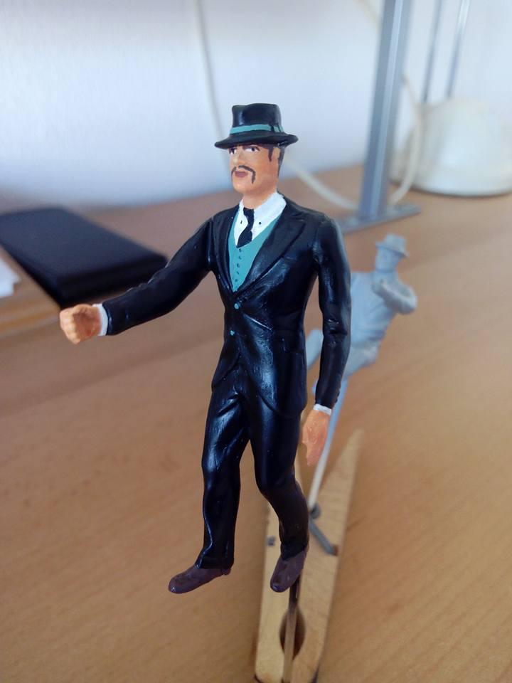 "figurine AMT de 1970.1/24.""borsalino"". 12039411"