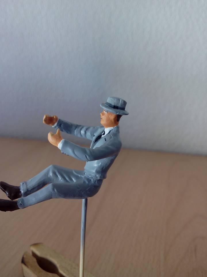 "figurine AMT de 1970.1/24.""borsalino"". 12039610"
