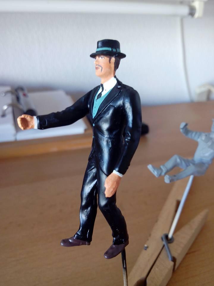 "figurine AMT de 1970.1/24.""borsalino"". 12043010"