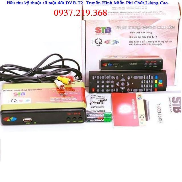Đầu thu kts Hàng chính hãng DVB T2 - MODEL T2-0715 . Bảo hành 18 Tháng 12106810