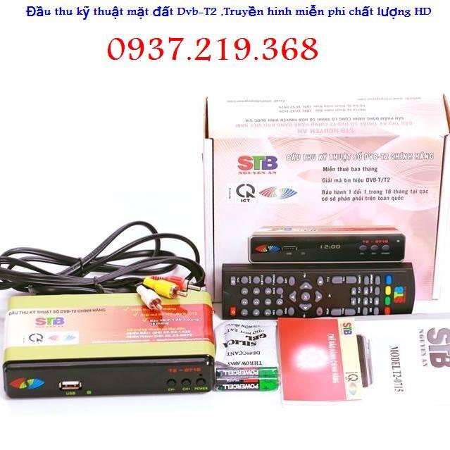 Đầu thu kts Hàng chính hãng DVB T2 - MODEL T2-0715 . Bảo hành 18 Tháng 12310
