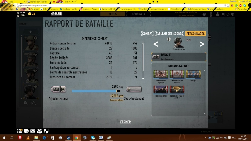 Team Warface et Heroes and Generals Tank10