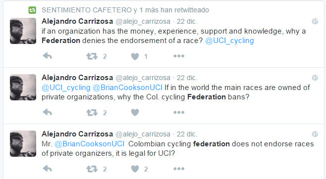 EQUIPOS UCI COLOMBIANOS 2016 Carriz10
