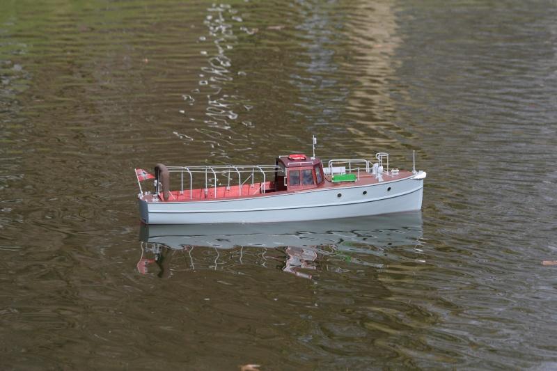Verkehrsboot der ehem. KM Anschw10