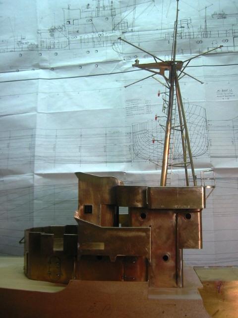 Minensucher Typ 1943 - M 1:35 Mast_s10