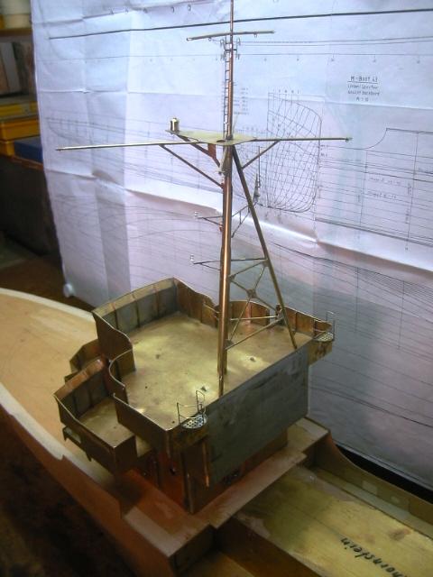 Minensucher Typ 1943 - M 1:35 Mast_s11