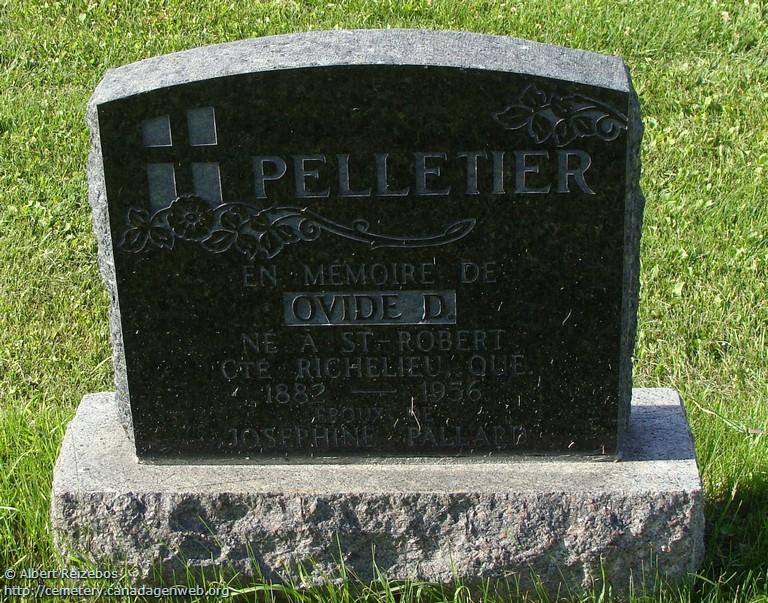 PELLETIER Felix (1907-2003) & FISETTE Leontine (1908-  ) Mbwpg010