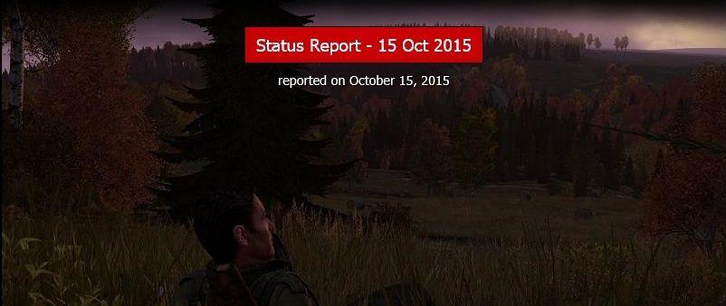 STATUS REPORT 15-10-2015  15101510