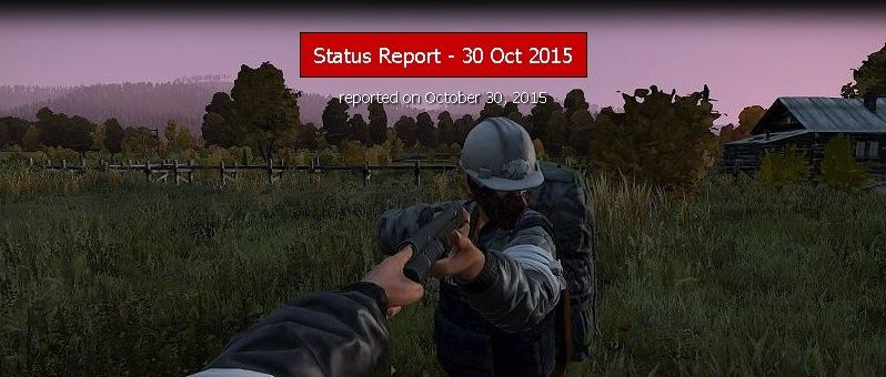 STATUS REPORT DU 30-OCT-2015 Hgjghj10
