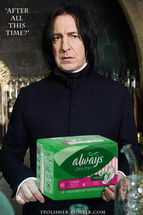 Une débauche de jeux de mots, mais une absence totale de skill sur photoshop Snape-10