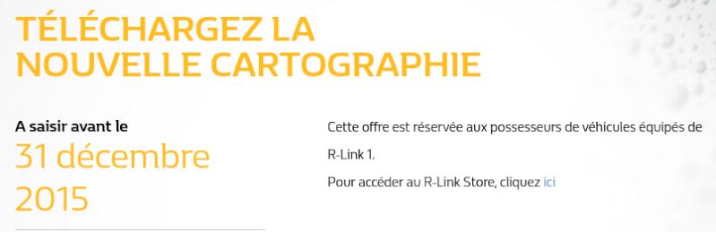 Offre en cours pour mise à jour carto (R-link 1) Captur11
