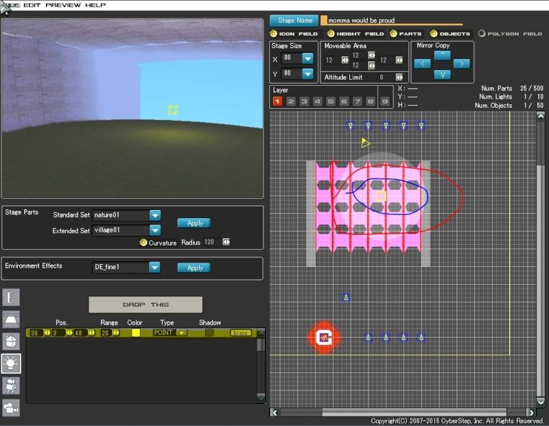 Stage Editor tutorial Lights11