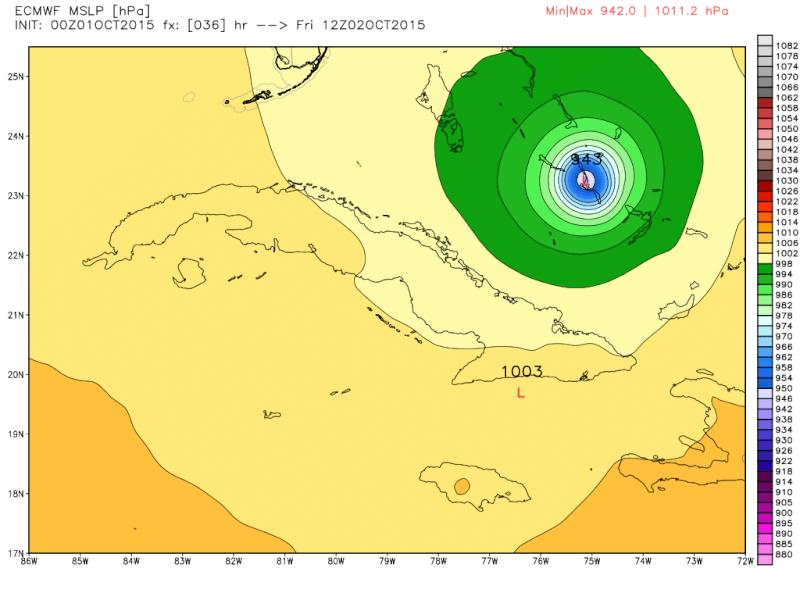 Hybrid / Sub-Tropical Storm Possible Sunday-Monday (UNCERTAINTY) - Page 40 Ecmwf_10