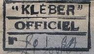* KLÉBER (1904/1917) * 160910