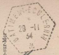 RHIN (BÂTIMENT-ÉCOLE) 341110