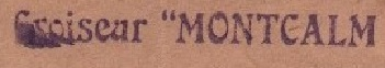 * MONTCALM (1937/1969) * 390610