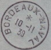 Bureau Naval N° 25 de Bordeaux 458_0010