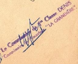 * LA GRANDIÈRE (1940/1959) * 540710