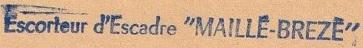 * MAILLÉ-BRÉZÉ (1957/1988) * 570510