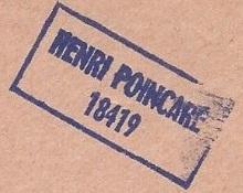 * HENRI POINCARÉ (1968/1992) * 7512_c10