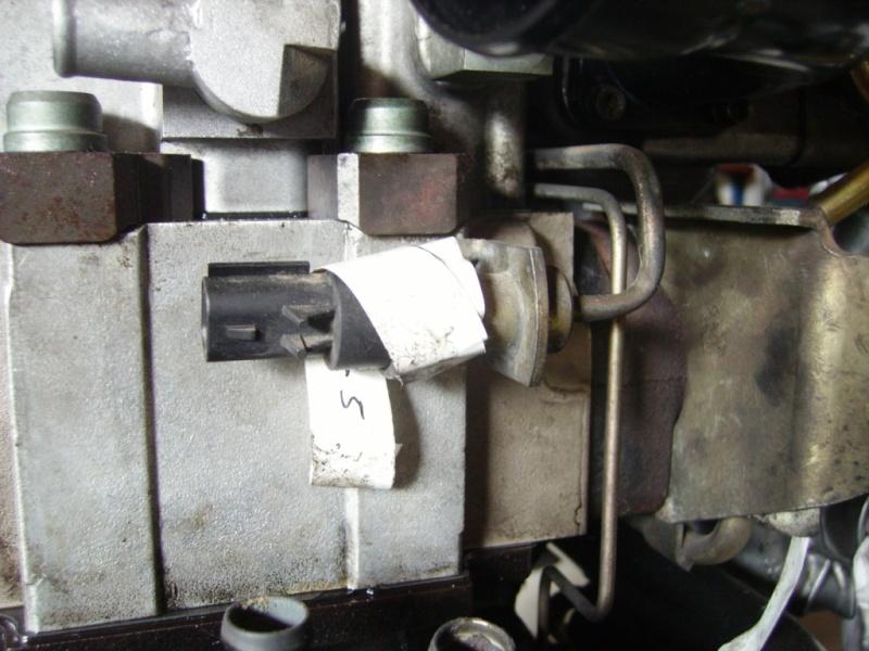 voyant d'huile allumer au ralenti sur Voyager 1998 moteur diesel à pignons C110