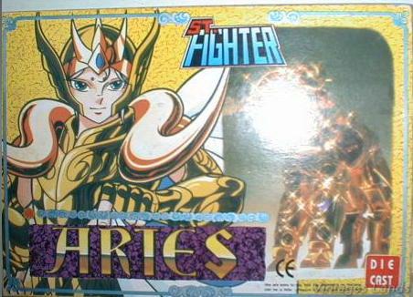 Cavalieri dello Zodiaco scatola versione Bootlegs anni Novanta e Duemila Belier10