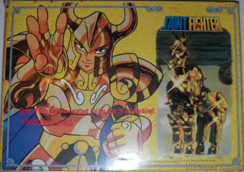 Cavalieri dello Zodiaco scatola versione Bootlegs anni Novanta e Duemila Capric10