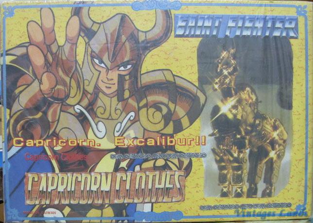 Cavalieri dello Zodiaco scatola versione Bootlegs anni Novanta e Duemila Capric11