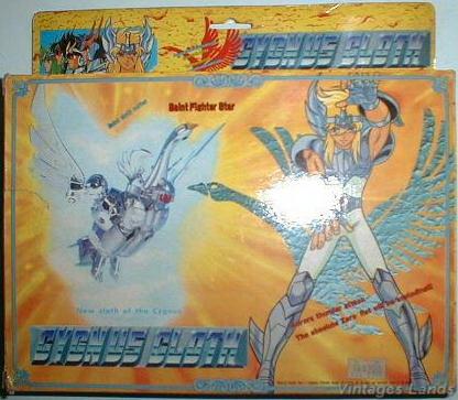Cavalieri dello Zodiaco Bootlegs anni '80 - '90 Cygne213