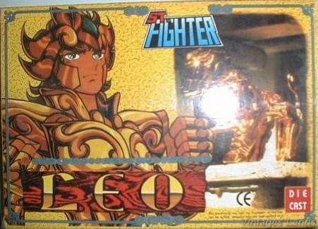 Cavalieri dello Zodiaco scatola versione Bootlegs anni Novanta e Duemila Lionc10