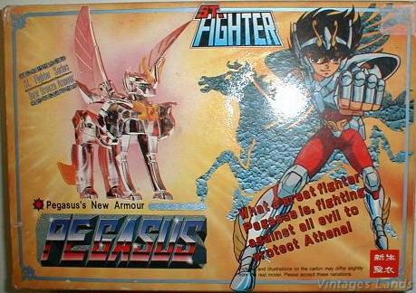 Cavalieri dello Zodiaco Bootlegs anni '80 - '90 Pegase13