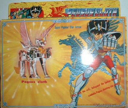 Cavalieri dello Zodiaco Bootlegs anni '80 - '90 Pegase14