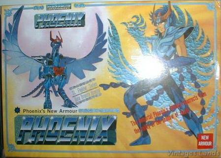 Cavalieri dello Zodiaco Bootlegs anni '80 - '90 Phoeni10