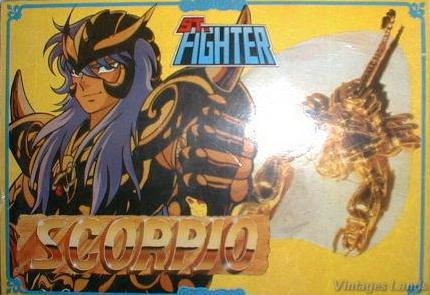 Cavalieri dello Zodiaco scatola versione Bootlegs anni Novanta e Duemila Scorpi10