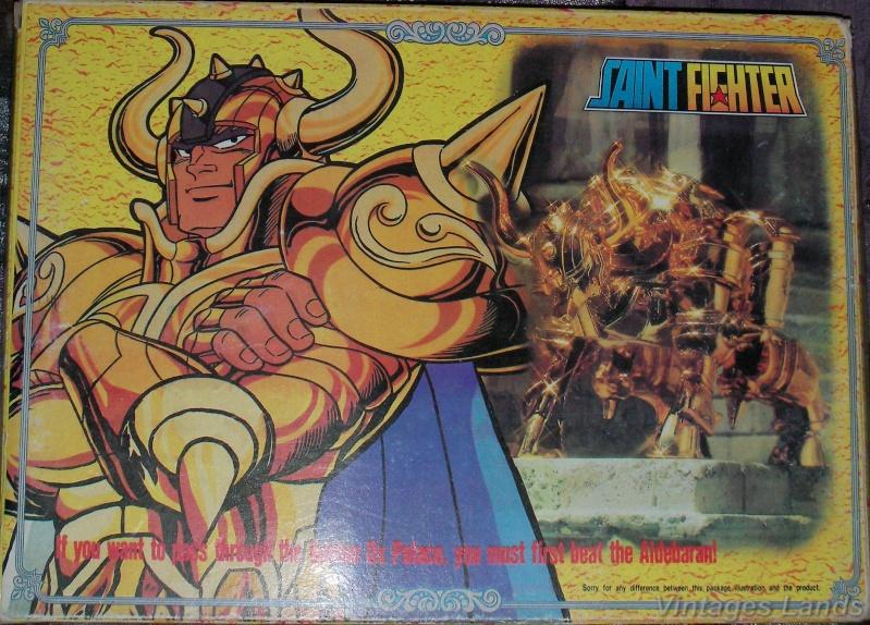 Cavalieri dello Zodiaco scatola versione Bootlegs anni Novanta e Duemila Taurea10
