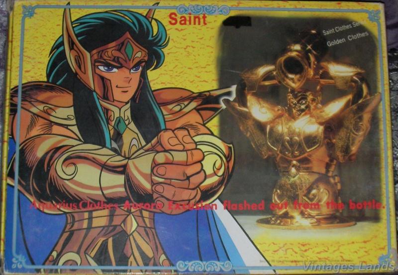 Cavalieri dello Zodiaco scatola versione Bootlegs anni Novanta e Duemila Versea10